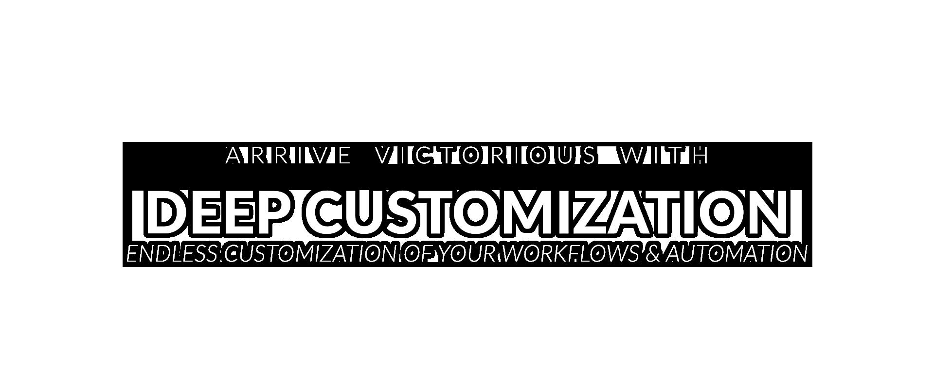 Deep Customization