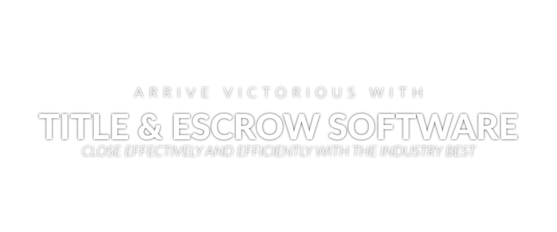 Title & Escrow Software